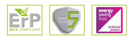 5 year warranty Features