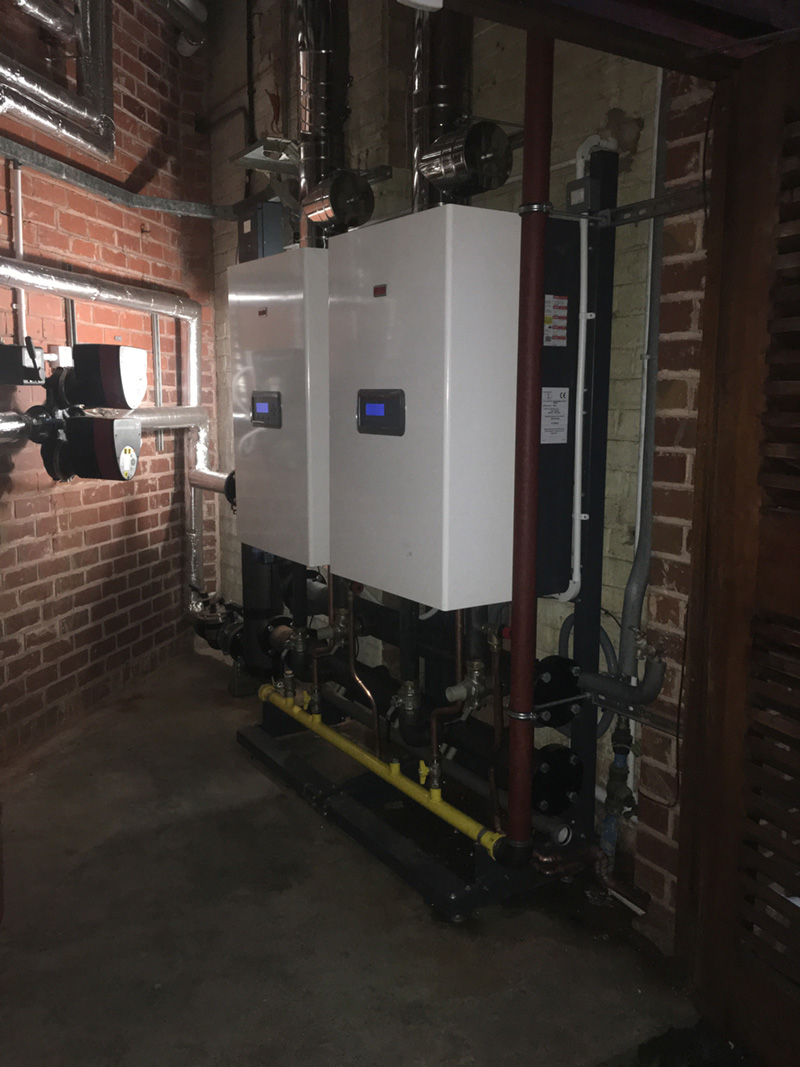 CONDEXA PRO BOILERS SAVE SPACE AND COST FOR SMETHWICK OFFICE PROJECT